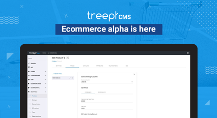 Ecommerce alpha is here!