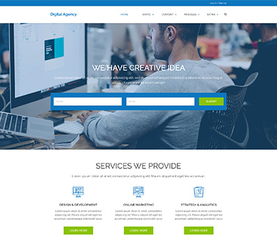 CMS Website Templates